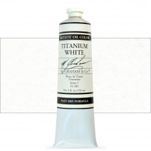 M. Graham : Artists' Oil Paint : 150ml : Titanium White Fast Dry