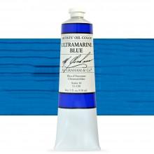 M. Graham : Artists' Oil Paint : 150ml : Ultramarine Blue