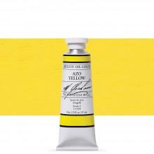 M. Graham : Artists' Oil Paint : 37ml : Azo Yellow