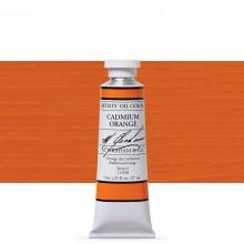 M. Graham : Artists' Oil Paint : 37ml : Cadmium Orange