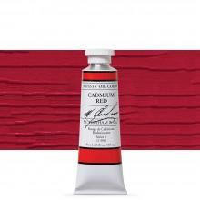 M. Graham : Artists' Oil Paint : 37ml : Cadmium Red