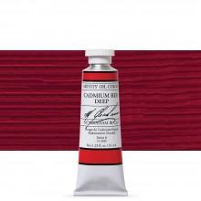 M. Graham : Artists' Oil Paint : 37ml : Cadmium Red Deep