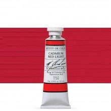 M. Graham : Artists' Oil Paint : 37ml : Cadmium Red Light