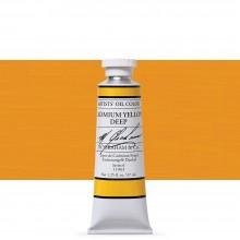 M. Graham : Artists' Oil Paint : 37ml : Cadmium Yellow Deep
