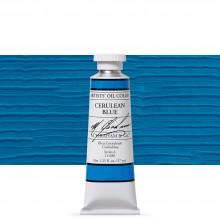 M. Graham : Artists' Oil Paint : 37ml : Cerulean Blue