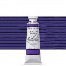 M. Graham : Artists' Oil Paint : 37ml : Dioxazine Purple