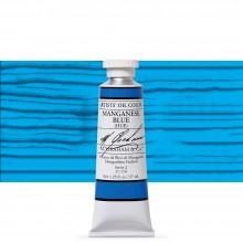 M. Graham : Artists' Oil Paint : 37ml : Manganese Blue Hue