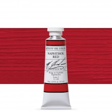 M. Graham : Artists' Oil Paint : 37ml : Naphthol Red
