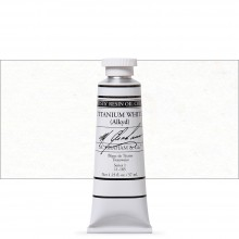 M. Graham : Artists' Oil Paint : 37ml : Titanium White Fast Dry