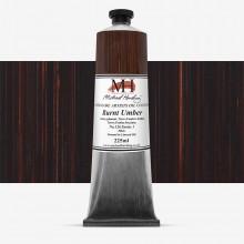 Michael Harding : Oil Colour : 225ml Burnt Umber