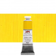 Michael Harding : Oil Paint : 40ml : Yellow Lake