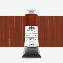 Michael Harding : Oil Colour : 40ml Burnt Sienna