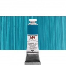 Michael Harding : Oil Paint : 40ml : Phthalo Turquoise