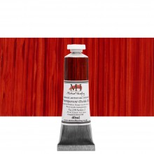 Michael Harding : Oil Paint : 40ml : Transparent Oxide Red