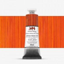 Michael Harding : Oil Paint : 40ml : Quinacridone Gold