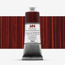 Michael Harding : Oil Colour : 60ml Transparent Oxide Red