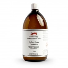 Michael Harding : Refined Gum Turpentine : 1000ml : Ship By Road Only