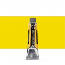 Talens : Rembrandt Oil Colour : 40 ml Tube : Permanent Yellow Medium