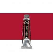 Talens : Rembrandt Oil Paint : 40 ml Tube : Permanent Madder Deep