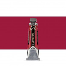 Talens : Rembrandt Oil Paint : 40 ml Tube : Permanent Madder Medium