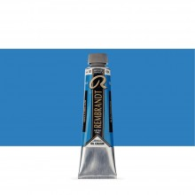 TALENS : REMBRANDT OIL PAINT : 40 ML TUBE : CERULEAN BLUE