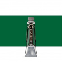 Royal Talens : Rembrandt Oil Paint : 40ml : Cinnabar Green Deep