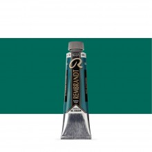 Royal Talens : Rembrandt Oil Paint : 40ml : Ultramarine Green