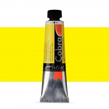 Royal Talens : Cobra Artist Water Mixable Oil Paint : 40ml : Cadmium Yellow Lemon