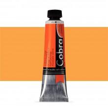 Royal Talens : Cobra Artist Water Mixable Oil Paint : 40ml : Cadmium Orange