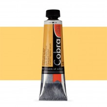 Royal Talens : Cobra Artist Water Mixable Oil Paint : 40ml : Naples Yellow Deep