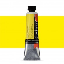 Talens : Cobra Artist Water Mixable Oil Paint : 40ml Permanent Lemon Yellow