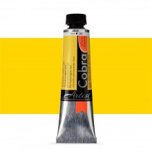 Royal Talens : Cobra Artist Water Mixable Oil Paint : 40ml : Permanent Yellow Light