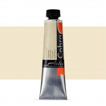 Talens : Cobra Artist Water Mixable Oil Paint : 40ml Titanium Buff