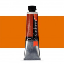 Talens : Cobra Artist Water Mixable Oil Paint : 40ml Transparent Oxide Red