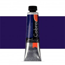 Talens : Cobra Artist Water Mixable Oil Paint : 40ml Permanent Blue Violet