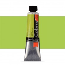 Talens : Cobra Artist Water Mixable Oil Paint : 40ml Yellowish Green