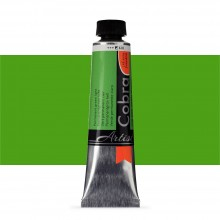 Talens : Cobra Artist Water Mixable Oil Paint : 40ml Permanent Green Light