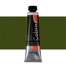 Royal Talens : Cobra Artist Water Mixable Oil Paint : 40ml : Olive Green