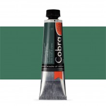 Royal Talens : Cobra Artist Water Mixable Oil Paint : 40ml : Chromium Oxide Green