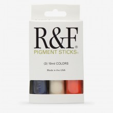 R&F : Pigment Stick Set : 19ml : Trial Set 1 : 3 Colours