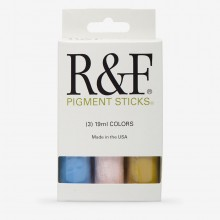 R&F : Pigment Stick Set : 19ml : Trial Set 2 : 3 Colours