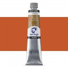 Talens : Van Gogh Oil Colour 200ml : RAW SIENNA S1