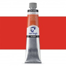 Talens : Van Gogh Oil Paint 200ml : Azo Red Light S1