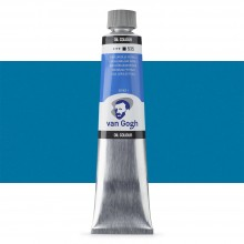 Talens : Van Gogh Oil Colour 200ml : CERULEAN BLUE (PHTHALO.) S1