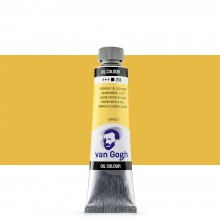 Talens : Van Gogh Oil Paint : 40ml : Cadmium Yellow Lt S2