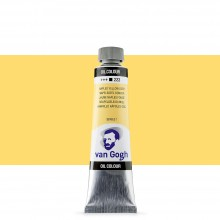 Talens : Van Gogh Oil Paint : 40ml : Naples Yellow Deep. S1