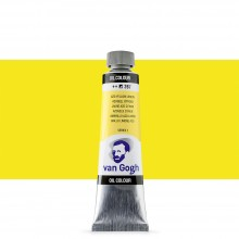 Talens : Van Gogh Oil Paint : 40ml : Azo Yellow Lemon S1