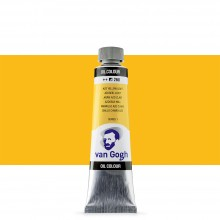 Talens : Van Gogh Oil Paint : 40ml : Azo Yellow Light S1