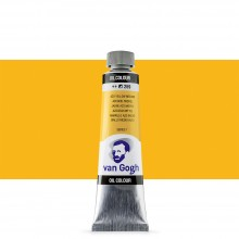 Royal Talens : Van Gogh Oil Paint : 40ml : Azo Yellow Medium S1