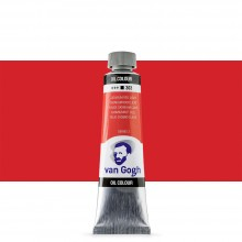 Royal Talens : Van Gogh Oil Paint : 40ml : Cadmium Red Light S2